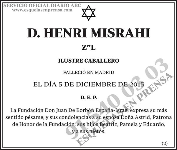 Henri Misrahi